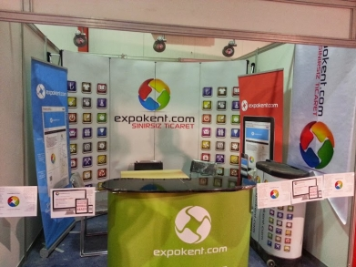 expokent booth in EIF 2013